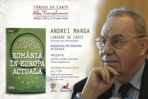 Afis Andrei Marga - Comunicat de    Presa