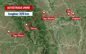 autostrada-unirii-harta