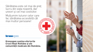 2020-04 Donation to Romanian Red Cross